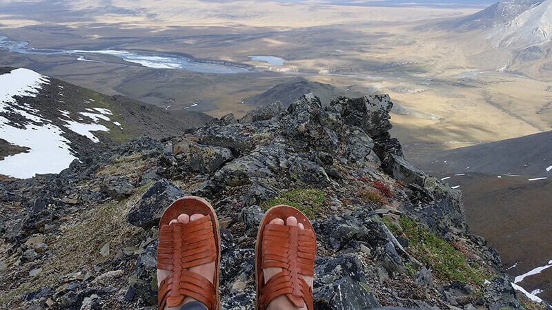 HIKING IN HUARACHES: Finding Home in Nature